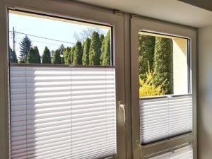 Plisy do okien balkonowych