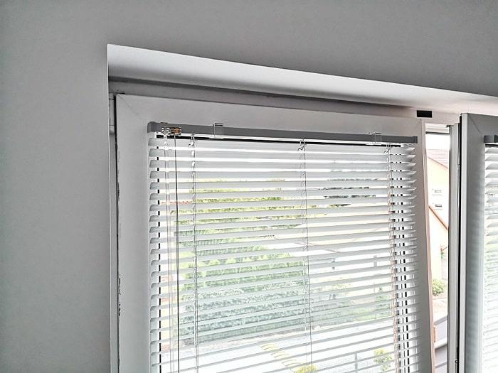 Zaluzja aluminiowa 25 mm koloru szarego